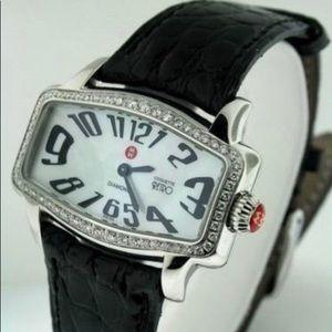 Michele Diamond Coquette Retro watch